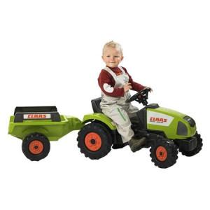 Speelgoed tractor met aanhanger